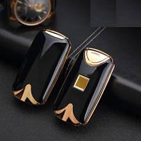 USB зажигалка электроимпульсная с сенсором (120-С)