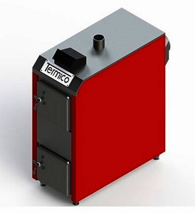 Экономный пиролизный котел Termico ЕКО-60П 60 кВт на сенсорном управлении, фото 2