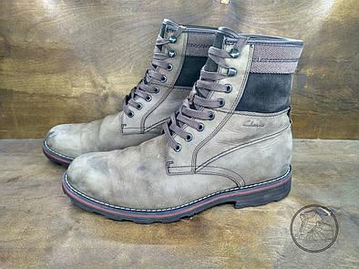 Ботинки Clarks (44 размер) бу  ботинки мужские от