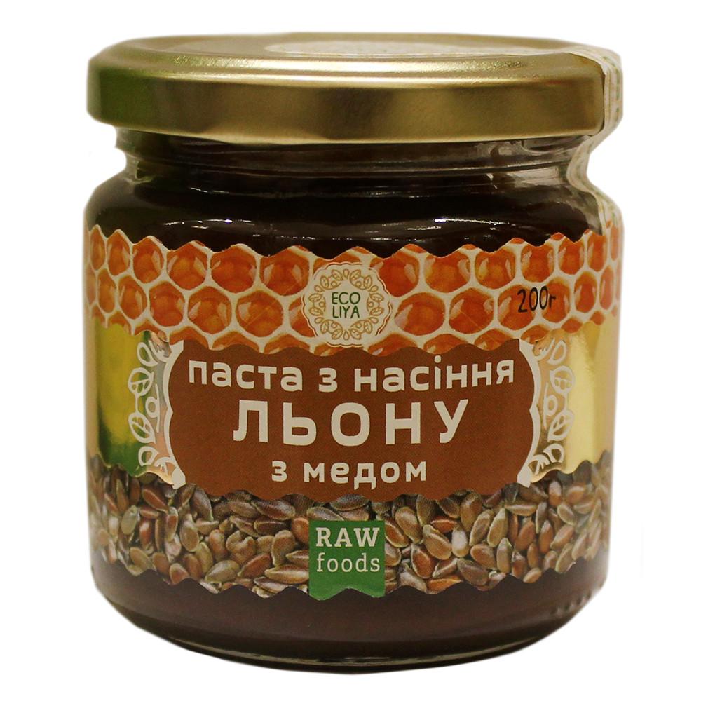 """Паста из семян льна с медом """"Эколия"""" - 200 грамм"""