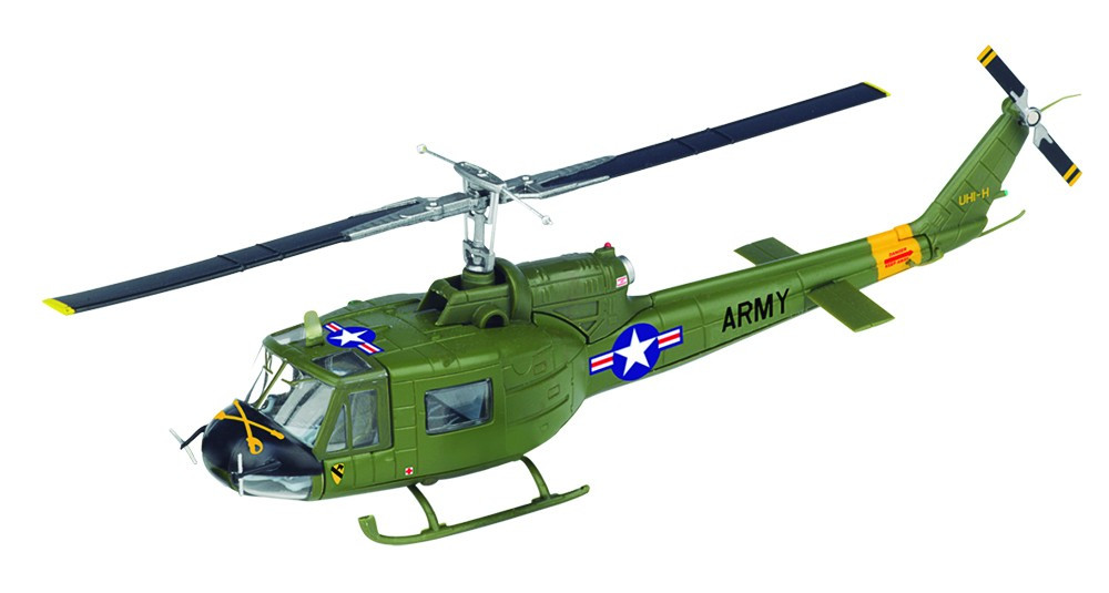Модель Военные Вертолеты (ДеАгостини) №03 КА-50 «Черная акула» (Россия) в масштабе 1:72