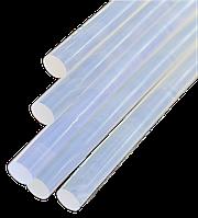 Термоклей. Стержні клейові 11*300 мм (1 кг) прозорі, фото 1