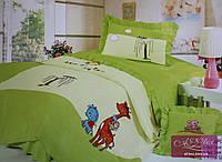 Постельное  белье Alltex Детская аппликация Зелёный