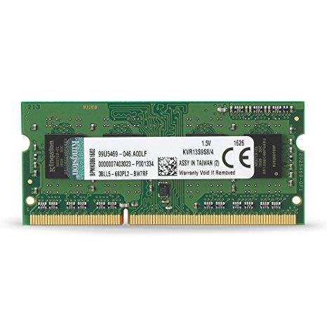 """Оперативная память Kingston DDR3/4GB/1333MHz KVR13S9S8/4 """"Over-Stock"""" Б/У"""