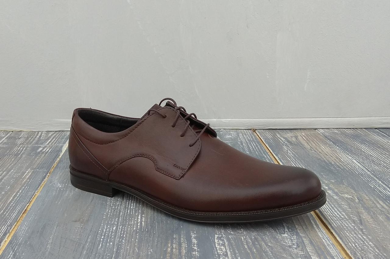 Шкіряні туфлі Pan - зручність на першому місці! - 44 розмір