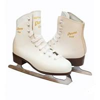 Коньки DAVOS GOLD 2170-02 (white) 37р.