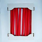 Свеча декоративная конусная лаковая красная 25 см качество, фото 2
