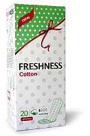 Ультратонкие гигиенические прокладки ежедневные «Freshness» Cotton Soft Every Day 20шт