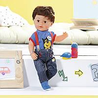 Кукла BABY BORN - СТАРШИЙ БРАТИК 43 см, с аксессуарами, 825365