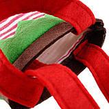"""Новорічний декоративний - мішечок """"Ельфійські казки"""" для цукерок, фото 4"""