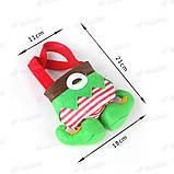 """Новорічний декоративний - мішечок """"Ельфійські казки"""" для цукерок, фото 6"""