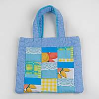"""Многофункциональная сумка-коврик для прогулки и покупок """"Пэчворк"""""""