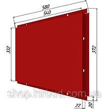 Фасадные касети (под заказ) глянц 0,45мм 372х580мм