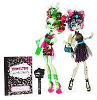 Набор кукол Монстер Хай Венера Макфлайтрап и Рошель Гойл из серии Танцы Зомби.