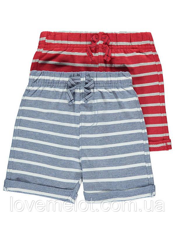 """Детские трикотажные шорты George """"Энтони"""", набор 2 шт, размер 86 см"""