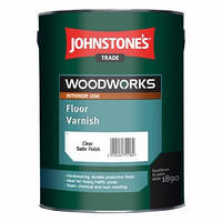 Лак для паркета Johnstones Floor Varnish Satin (полуматовый) 5 л