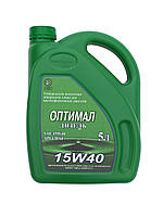 Моторное масло Оптимал Дизель 15W40, 5л