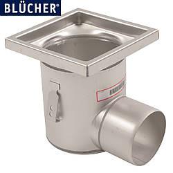 Трап кухонний для високої корзини Blucher 763.402.110, нержавіюча сталь, гориз. вихід D110, h219