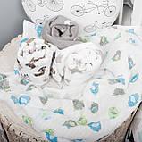 Детские пеленки муслиновые 80х80 для новорожденного  в ассортименте, фото 2