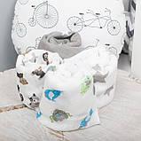 Детские пеленки муслиновые 80х80 для новорожденного  в ассортименте, фото 4