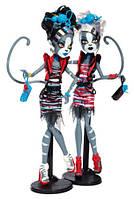 Набор кукол Monster High Zombie Shake Meowlody and Purrsephone Doll (2-Pack), Пурсефона и Мяулодия Зомби Шейк.