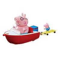 Игровой набор Peppa Pig Holiday Time Splash Speed Boat,