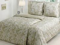Комплект постельного белья ТАС Shadow olive сатин семейное