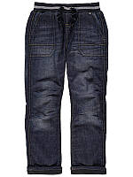 """Детские теплые джинсы на подкладке """"Морган"""" для мальчика на рост 86см"""