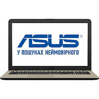 ✸Ноутбук Asus X540NA (X540NA-GQ007) Chocolate Black Intel Celeron N3350 RAM 4 ГБ / HDD 500 ГБ офисный