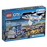 Конструктор Lego City Перевозчик тренировочного самолёта 60079.