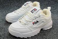 Мужские зимние кроссовки Fila Disruptor 2 white