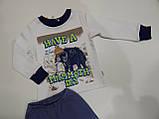 Пижама детская для мальчика интерлок р.92,110,116 ТМ Бемби, фото 2