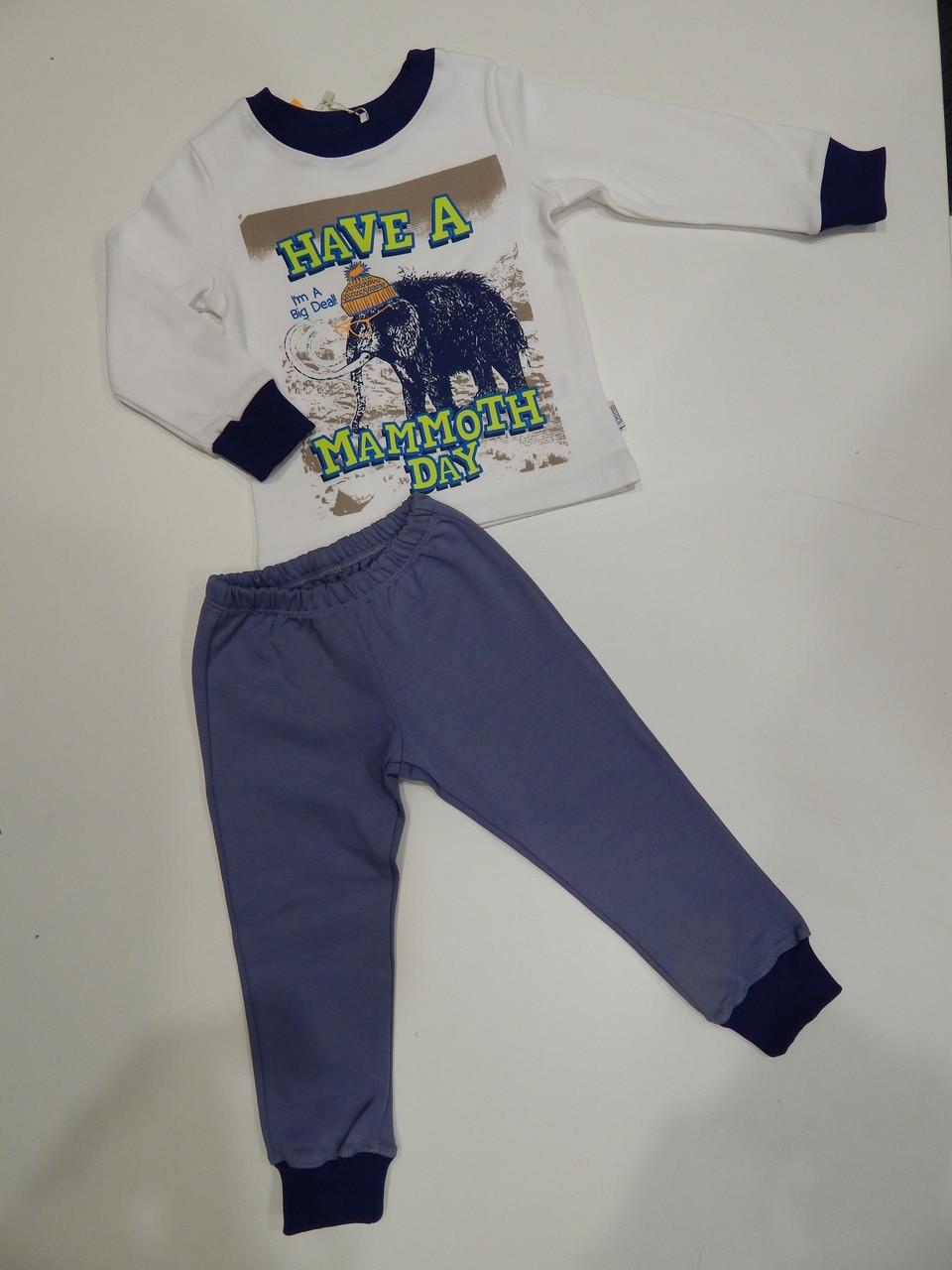 Пижама детская для мальчика интерлок р.92,110,116 ТМ Бемби