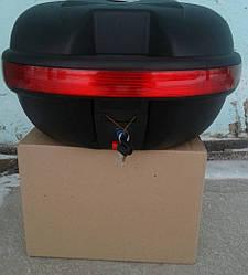 Кофр для мотоцикла (багажник) TVR на один шлем