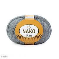 Пряжа Nako Peru Серый