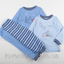"""Детские пижамки 2ш в наборе Дисней """"Обнимашки с Винни"""" для мальчика 12-18 и 18-24 мес хлопок"""