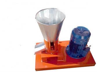 Гранулятор комбикорма бытовой с плоской матрицей 100мм 1,5квт 220в до 40кг/час