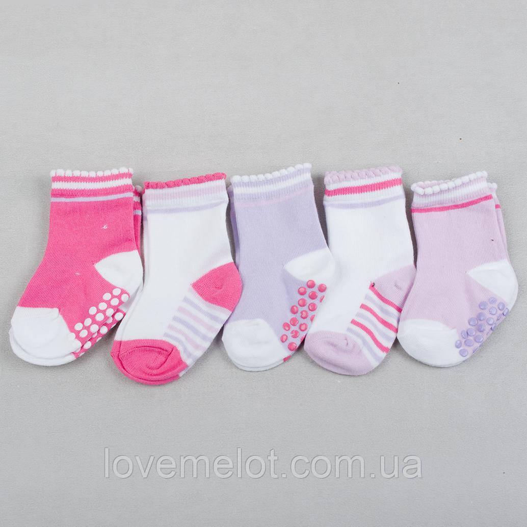 """Детские носки хлопковые для девочки """"Юность"""" 6-12 мес, 1-2 года"""