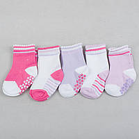 """Детские носки хлопковые для девочки """"Юность"""" 1-2 года"""