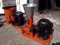 Гранулятор комбикорма бытовой с плоской матрицей 120мм 2,2квт 220в до 60кг/час