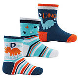 """Детские носки, детские носочки """"Динозаврик"""" для мальчика 12-18мес., фото 2"""