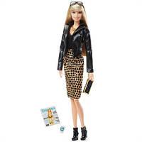 Коллекционная кукла Barbie The Look Doll Blonde Барби Высокая Мода Городские джунгли шарнирная