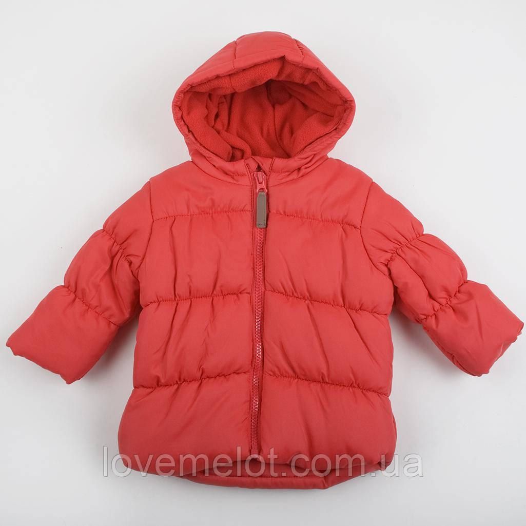 """Куртка дитяча для хлопчика, демісезонна куртка George """"Ріно"""" червона на зростання 74,80,86 см"""