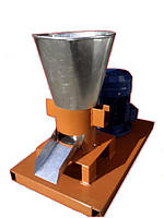Гранулятор комбикорма бытовой с плоской матрицей 150мм 4,0квт 380в до 100кг/час фермер-3