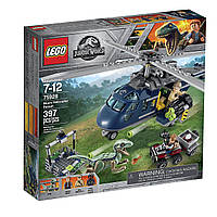 Конструктор Лего 75928 LEGO Jurassic World Погоня за Блю на вертолёте