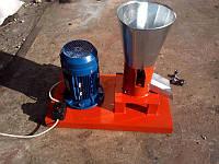 Гранулятор пеллет бытовой с плоской матрицей 150мм 4,0квт 380в до 100кг/час фермер-3
