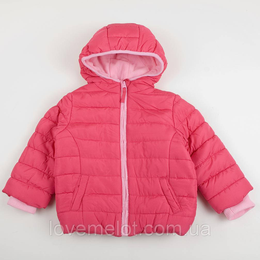 """детская Куртка розовая демисезонная Mothercare """"Лили"""" для девочки на рост 92,104,116см"""