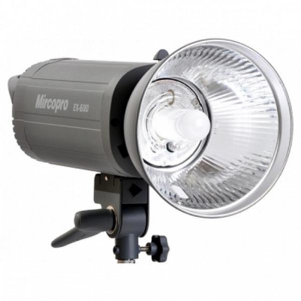 Студийный свет MIRCOPRO EX-600S (600ДЖ) с рефлектором (EX-600S)