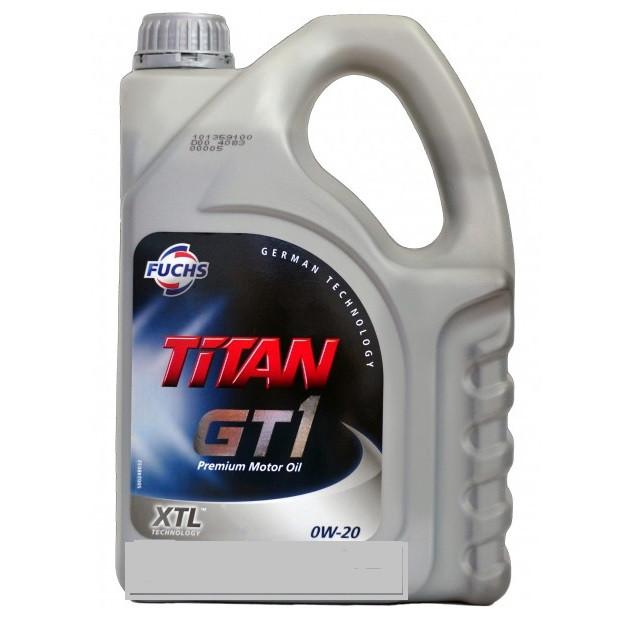 Масло моторное Fuchs TITAN GT1 PRO V 0W-20 XTL 4л