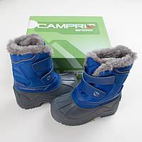 """Теплые сапоги CAMPRI """"Зимние игры"""" для мальчика и девочки размер 23 и 24 Англия зимняя обувь"""